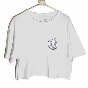 HOLY GUACAMOLE CROPPED T SHIRT by Philcos